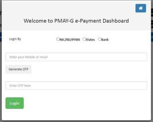 pmay payment process