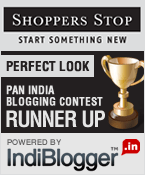 Shoppers Stop - IndiBlogger Contest Runner-up