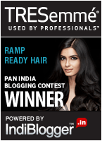 TRESemmé Ramp Ready Hair - IndiBlogger Contest Winner