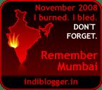 Nov 2008 - Remember Mumbai