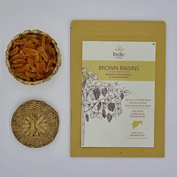 IndicLiving-Buy-Organic-Brown-Raisins