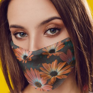 Designer Face Mask - Flower- 05