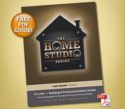 Free Guide: Building a Pro Home Studio | Indie-Music.com