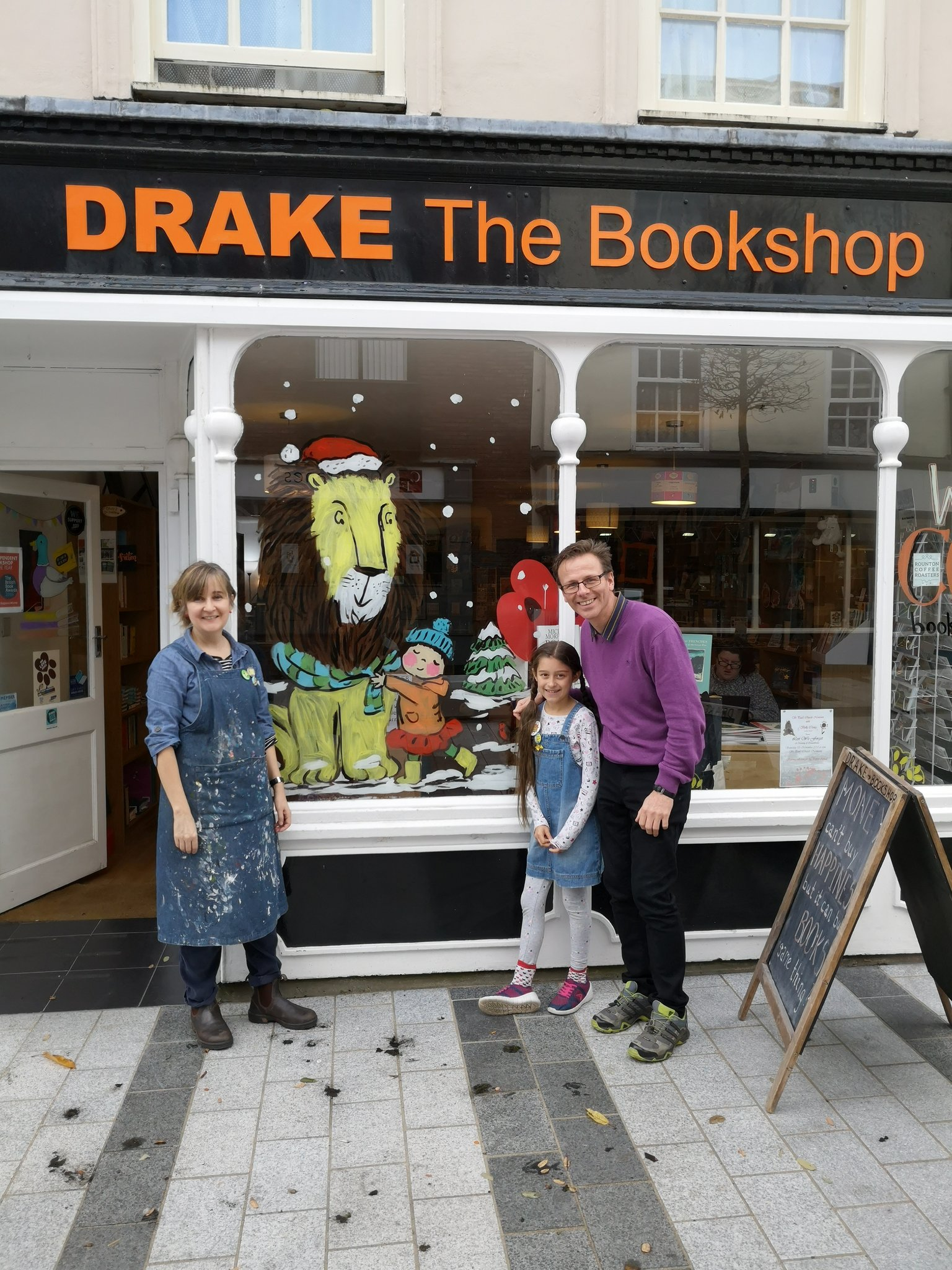 DRAKE the Bookshop – Day 2 of the Advent