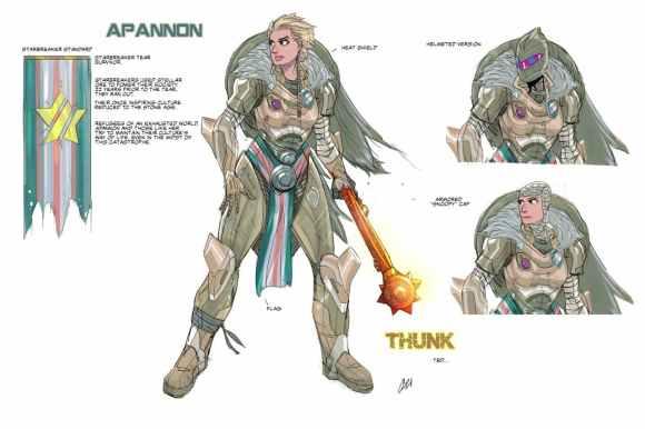 Apannon design by John Osborne