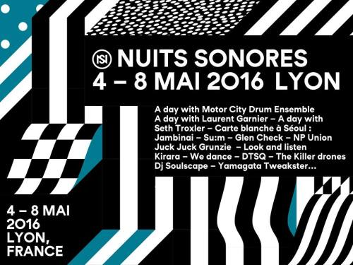 Nuits Sonores 2016 banner