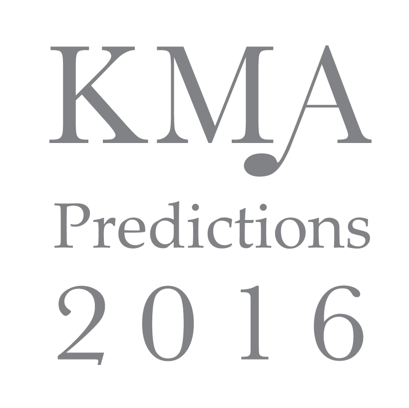KMA2016: Kevin's Predictions