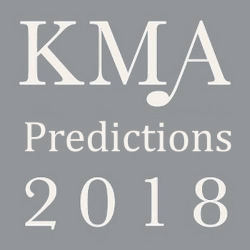 KMA2018: Jung's Predictions