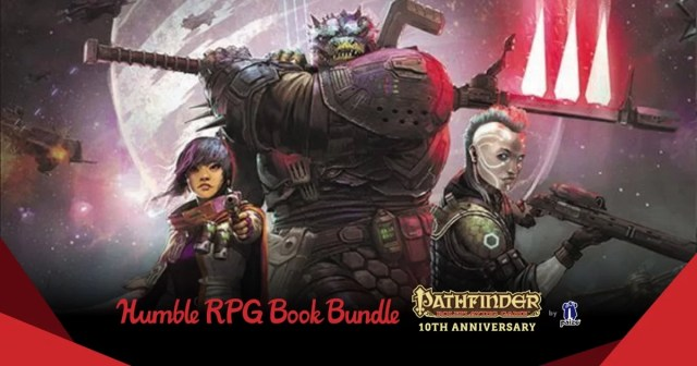 The Humble RPG Book Bundle Pathfinder 10th Anniversary by Paizo