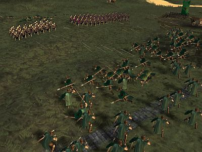Hegemony screenshot - phalangites and peltasts 1