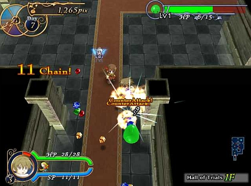 Recettear Hall of Trials action screenshot002