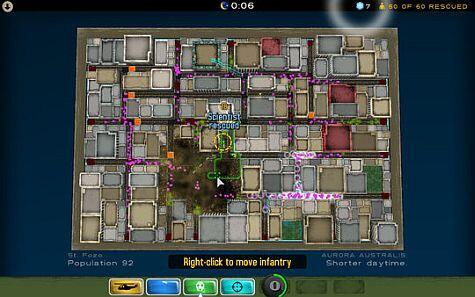 Atom Zombie Smasher move infantry screenshot