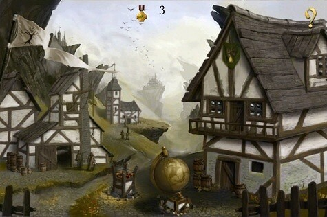 A Knights Dawn game for iOS - ye olde towne