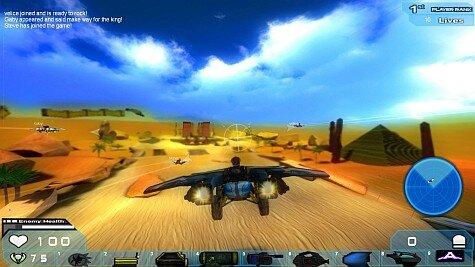 silas kart game  - jet setting screenshot