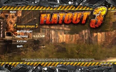 Flatout 3 Screenshot 1