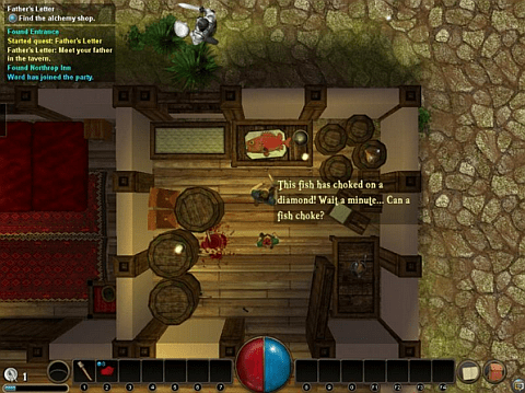Driftmoon RPG - screenshot 1 - something fishy