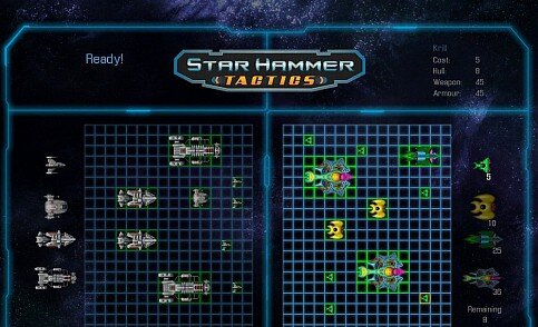 Star Hammer Tactics - Screenshot 2 - HUD