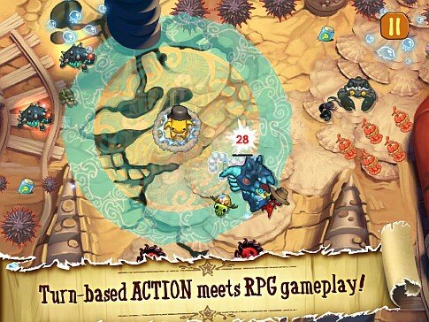 SQUIDS Wild West for iPAD - RPG meets turn-based action