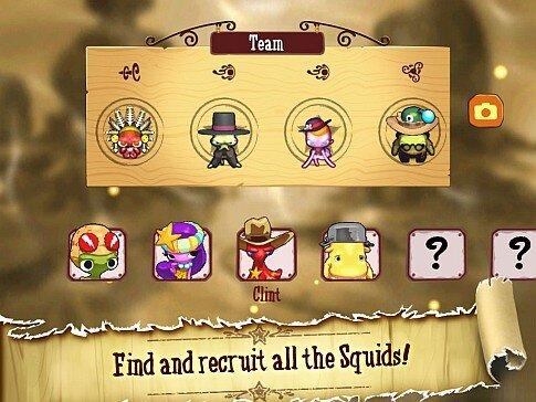 SQUIDS Wild West - iPad - unlockable characters