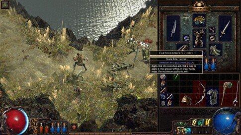 Path of Exile - Cartographers Chisel Screenshot