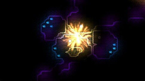 dynamite jack game - bomb-detonating-screenshot