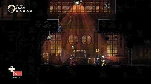 mark of the ninja - modern technology - screenshot