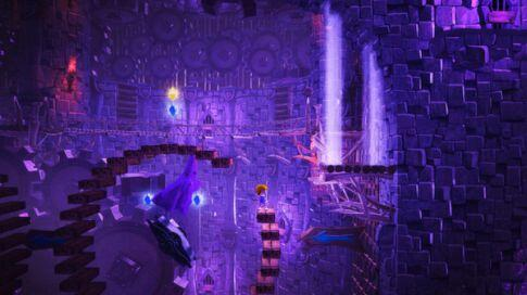 giana sisters twisted dreams screenshot - purple
