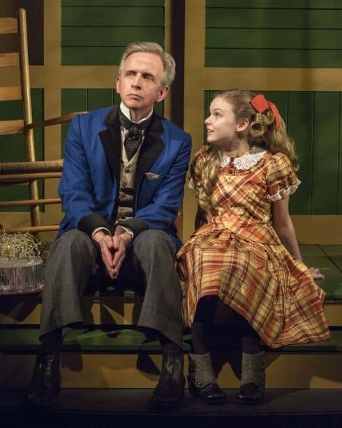 """Robert Joy and Brighid Fleming in the world premiere of """"The Nether"""" - Photo by Craig Schwartz"""