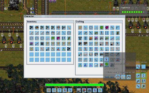 factorio game-crafting screen