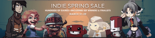 steam indie spring sale