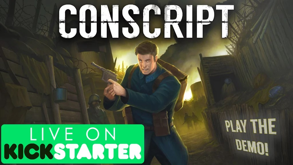 Conscript Kickstarter and Demo