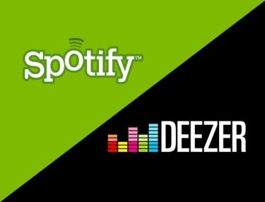 Resultado de imagen para deezer spotify