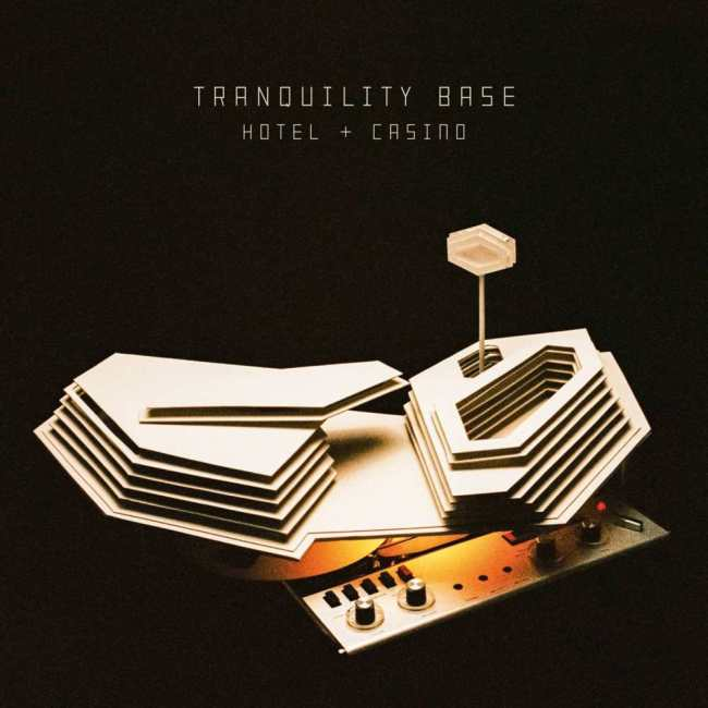 Arctic Monkeys Tranquility Base Hotel Casino cover artwork