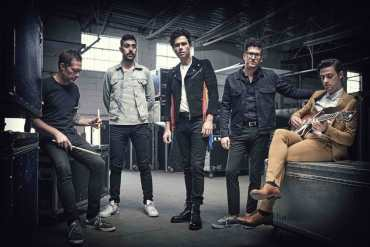 Arkells share Hand Me Downs' video with Frank Turner