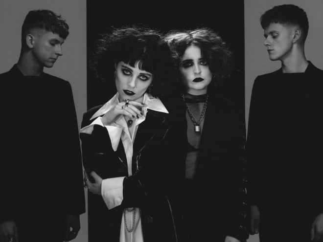 Pale Waves press shot by Brian Griffin