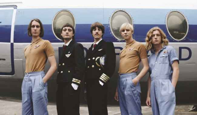 Parcels press shot by Antoine Henault