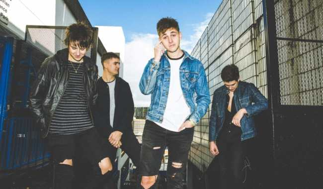 The Sherlocks reveal video for 'Live For The Moment'