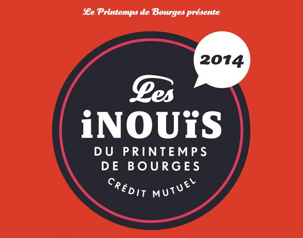 Inouis du Printemps de Bourges 2014