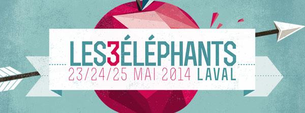 Les 3 Elephants 2014