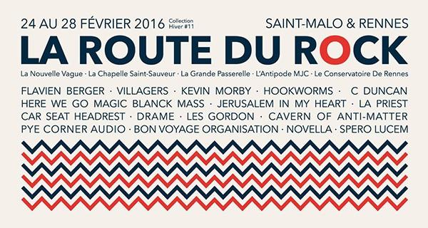 La Route du Rock - collection hiver 11