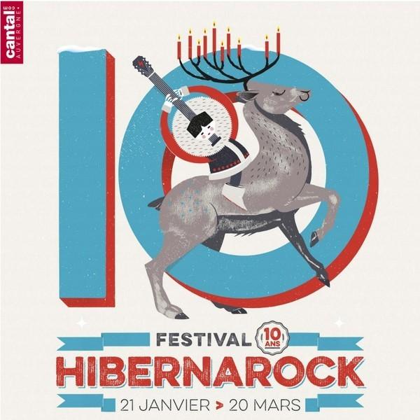 Affiche Hibernarock 2016