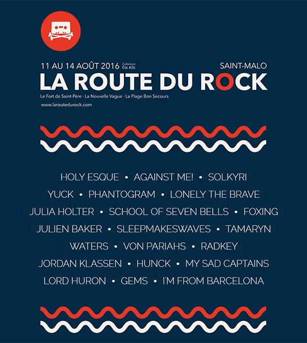 La Route du Rock - collection été #26 par Fred Lombard