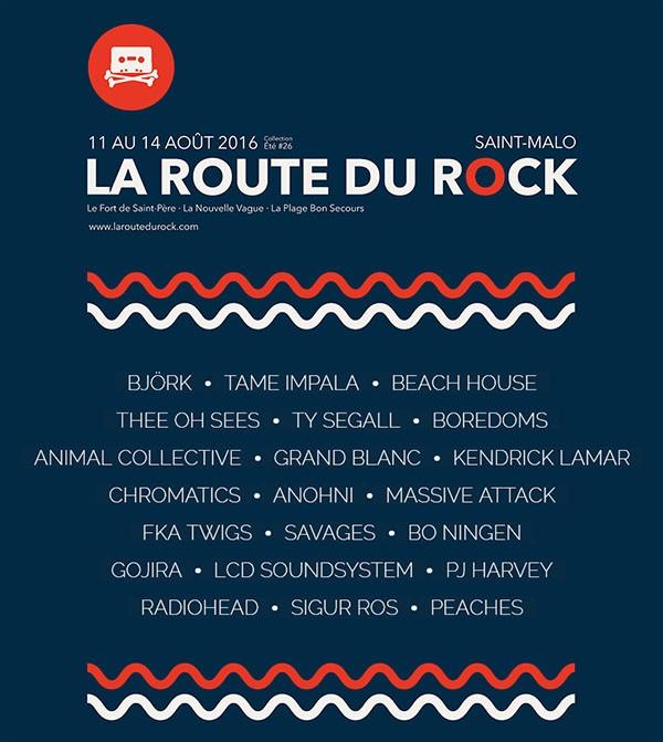 La Route du Rock - collection été #26 par Maxime Antoine