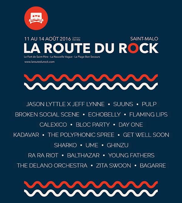 La Route du Rock - collection été #26 par Nicolas Nithart