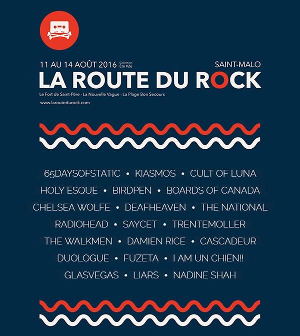 La Route du Rock - collection été #26 par Raphaël Duprez