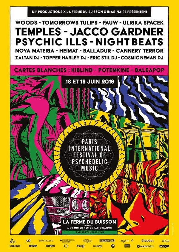 Paris International Festival of Psychedelic Music 2016