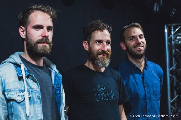 de gauche à droite : Alexandre, David et Maxime
