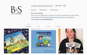 Instagram Page - Ben & Sam Authors