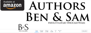 Twitter Page - Ben & Sam Authors