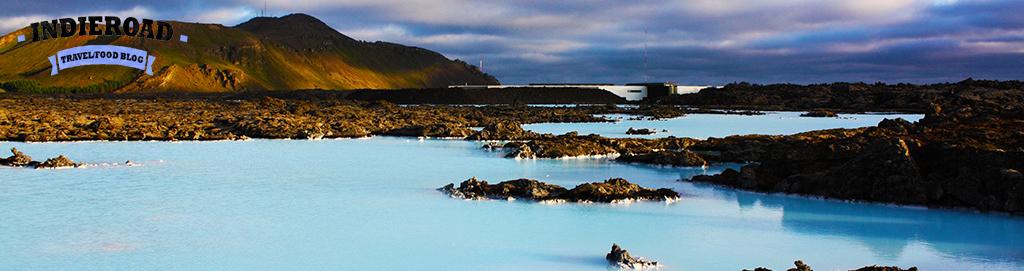 islanda laguna blu banner